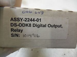 Omnex Ds odk8 8 Channel Relay Output Module Assy 2244 01 new In Box