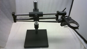 Ball bearing Dual arm Boom Stand Leica E arm 76mm For Stereo Microscopes