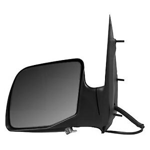 Ford Econoline 99 06 Sherman Driver Side Power View Mirror Non Heated Foldaway