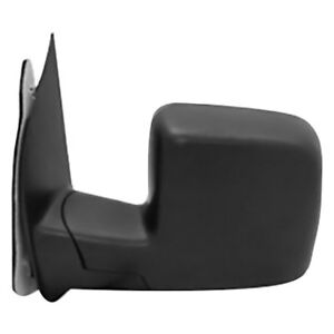 Ford Econoline 02 06 Sherman Driver Side Power View Mirror Non Heated Foldaway