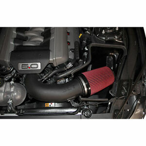 15 17 Mustang Gt Jlt Black Plastic Cold Air Intake Kit V8 5 0 Dohc Coyote Cai