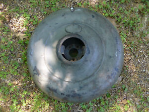 1920 S 1930 S Plymouth Spare Tire Cover Antique Continental Kit With Mounting