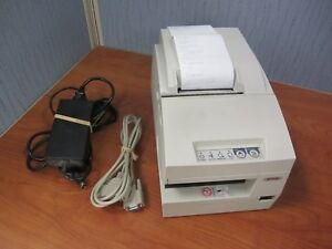 Epson Tm u675 Point Of Sale Dot Matrix Printer