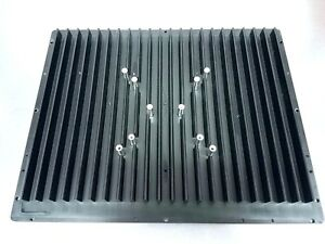 Large Black Anodized Aluminum Heat Sink 12 5 X 10 Computer Audio Amp