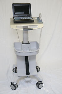 Adjustable Height Mobile Trolley Cart For Ultrasound Imaging System