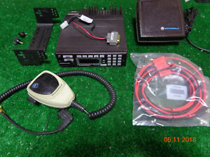 Motorola Astro 700 800mhz P25 Mobile Radio D04ujh9pw7an Complete Package A13