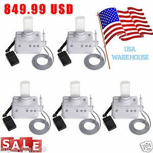 5 usa Dental Ultrasonic Piezo Scaler handpiece Fit Ems Woodpecker tips Bottle E