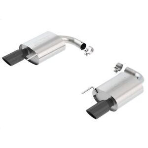 Borla 11887bc Ford Rear Section Exhaust System 2015 16 Ford Mustang Gt 5 0l