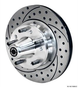Wilwood 140 10888 d Hub And Rotor Kit 1934 1948 Early Ford Drum Spindle Diameter