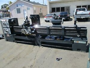 1997 Victor 20 x120 Engine Lathe Model 20120hd 3 1 8 Spindle Lots Of Tooling