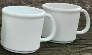 100 Plastic Coffee Mugs New Blank Wholesale Lot Catering Supply Bulk Set 8oz