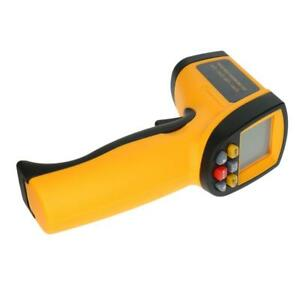 Non contact Digital Lcd Infrared Thermometer Temperature Meter 50 To 750