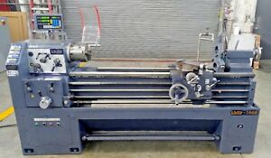 Victor 1660 Engine Tool Room Lathe 3 Jaw Chuck New Dro s Steady Rest