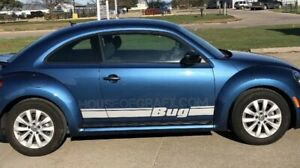 Bug Rocker Stripe Stripes Graphics Decals Fit Any Year Volkswagen Beetle