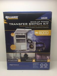 Reliance Controls 306lrk Transfer Switch Kit Back Up Power Brand New 105