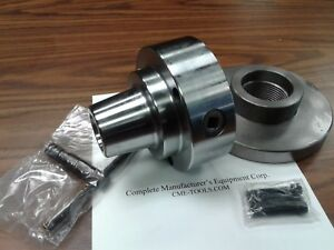 5c Collet Chuck With 2 1 4 8 Semi finished Adapter Plate chuck Dia 5 5c 05f0