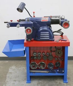 Very Nice Ammco 4000 Heavy Duty Disc Drum Brake Lathe W Complete Adapter Kit