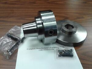 5c Collet Chuck With 1 1 2 8 Semi finished Adapter Plate chuck Dia 5 5c 05f0