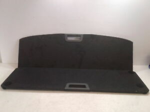 17 2017 Nissan Rogue Cargo Cover Black Oem