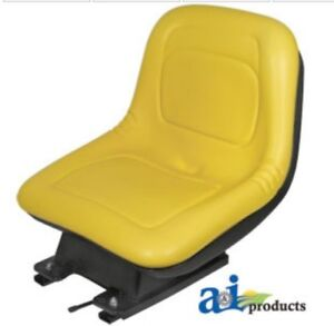 John Deere Seat With Suspension Fits Several Models Am131801