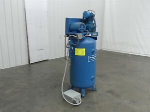 Compair Kellogg B335ub Air Compressor 80 Gallon 5hp 480v 3hp c1314