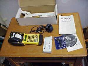 Brady Id Pro Plus Label Printer With Extras