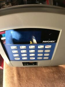 Paychex biometric finger print time clock oemp2105 04 Paychex biometric finger
