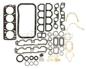 Fiat 124 Coupe Spider 1438cc Engine Gasket Set New