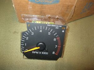 Nos 1993 Ford Escort Tachometer Day One In Box
