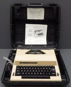 Sears Typewriter Electric the Communicator Correction carrying Case 161 53991