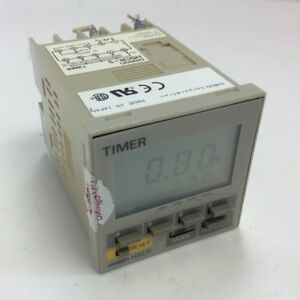 Omron H5cr s Industrial Multifunction Digital Timer Relay Module 12 24vdc 2 2w