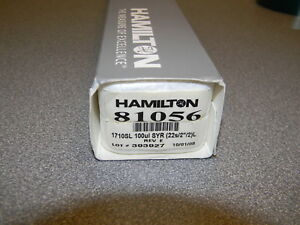 Hamilton 81056 Syringe Sample Lock 100 l New In Box