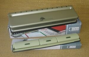 Circa Desk portable X2 Hole Punch For Levenger Planners notebooks All Sizes