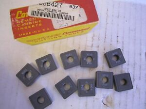 Lot Of 10 Sandvik Coromant Carbide Snmg 644 C5 New