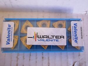 Lot Of 10 Valenite Carbide Inserts Style Wnmg Size 432 F3 Grade 9625 New