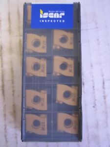 Lot Of 10 Iscar Carbide Inserts Lnmx 1506126 ht Ic9025 New
