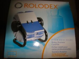 Rolodex Rotary Business Card File 67236