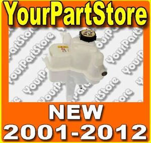 2001 2012 Ford Escape Radiator Water Coolant Tank Overflow Bottle Reserv