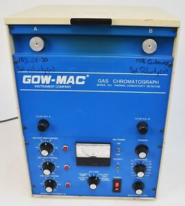 Gow mac 350 Series 69 350 Chromatograph Thermal Conductivity Detector Tcd