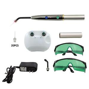 F3ww Portable Pad Light Dental Heal Laser Diode Pain Relief Device W goggles