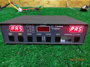 Kustom Signal Golden Eagle Ii Police Radar Speed Detection Control Head Unit B7