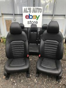13 16 Ford Fusion Seats Black Leather Heated Cooled Power Oem