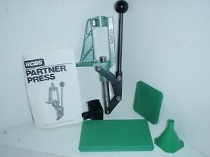 RCBS Partner Reloading Press and accessories