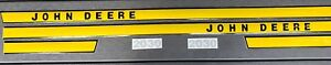 John Deere Hood Decal Set For John Deere Tractor Early Model 2030