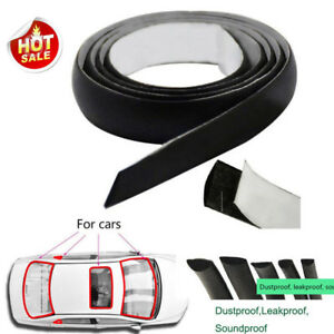 5m 16ft Car Rubber Sealing Weather Strip Trim For Front Rear Windshield Moulding