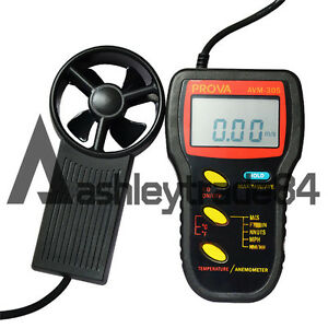 Prova Avm 305 Air Temperature Measurement rs 232c Interface With Pc anemometer