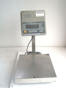 Weigh tronix Platform Bench Counting Scale Ms 60 60 Lb X 005 Tested