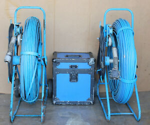 Uemsi Chaser Htv Sewer Pipeline Push Cable Inspection Camera Equipment Ridgid