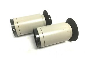 Lot Of 2 Nikon Smz 1b Stereozoom Microscope Eyepiece Tubes Inner Diameter 32mm