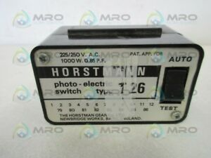 Horstmann T26 Photo Electric Switch used
